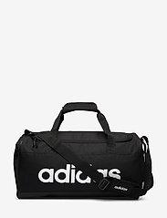 adidas Performance - LIN DUFFLE S - sacs d'entraînement - black/black/white - 0