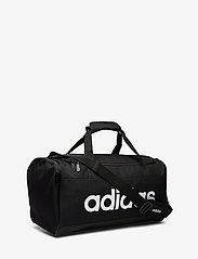 adidas Performance - LIN DUFFLE S - sports bags - black/black/white - 2