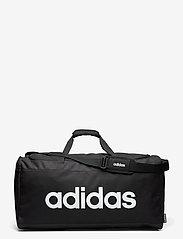 adidas Performance - Linear Logo Duffel Large - gymtassen - black/black/white - 0