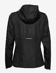 adidas Performance - Own the Run Hooded Wind Jacket W - treenitakit - black - 2