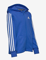 adidas Performance - YB MH 3S FZ - kapuzenpullover - blue/white - 3