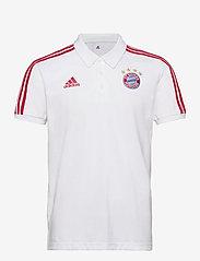 adidas Performance - Bayern Munich Polo - paidat - white/fcbtru - 1