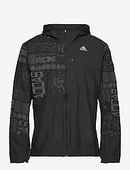 adidas Performance - OWN THE RUN JKT - sportjacken - black/refsil - 1