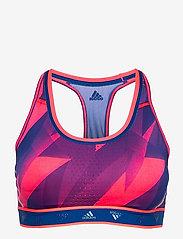 adidas Performance - DRST ASK Q1 BRA - sport bras: medium - sigpnk/royblu - 1