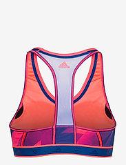 adidas Performance - DRST ASK Q1 BRA - sport bras: medium - sigpnk/royblu - 2