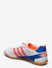 adidas Performance - Super Sala Boots - fodboldsko - ftwwht/sigcor/globlu - 2