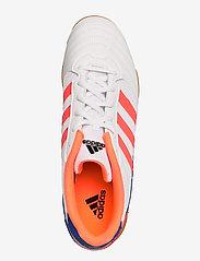 adidas Performance - Super Sala Boots - fodboldsko - ftwwht/sigcor/globlu - 3