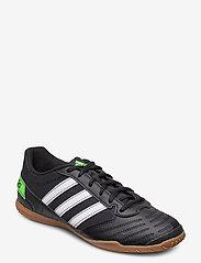adidas Performance - Super Sala Boots - fodboldsko - cblack/ftwwht/sgreen - 0