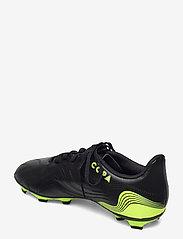 adidas Performance - Copa Sense.4 Flexible Ground Boots - fotballsko - cblack/syello/syello - 2