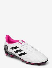 adidas Performance - Copa Sense.4 Flexible Ground Boots - fotballsko - ftwwht/cblack/shopnk - 0
