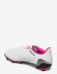 adidas Performance - Copa Sense.4 Flexible Ground Boots - fotballsko - ftwwht/cblack/shopnk - 2
