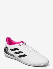 adidas Performance - Copa Sense.4 Indoor Boots - fodboldsko - ftwwht/cblack/shopnk - 0