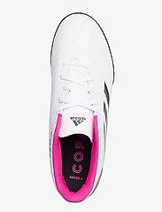 adidas Performance - Copa Sense.4 Turf Boots - fodboldsko - ftwwht/cblack/shopnk - 3