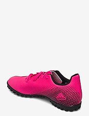 adidas Performance - X Ghosted.4 Turf Boots - fodboldsko - shopnk/cblack/cblack - 2