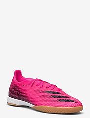 adidas Performance - X Ghosted.3 Indoor Boots - fodboldsko - shopnk/cblack/scrora - 1
