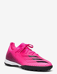 adidas Performance - X Ghosted.3 Turf Boots - fodboldsko - shopnk/cblack/scrora - 0