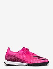 adidas Performance - X Ghosted.3 Turf Boots - fodboldsko - shopnk/cblack/scrora - 1