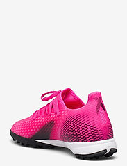 adidas Performance - X Ghosted.3 Turf Boots - fodboldsko - shopnk/cblack/scrora - 2