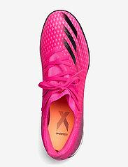 adidas Performance - X Ghosted.3 Turf Boots - fodboldsko - shopnk/cblack/scrora - 3