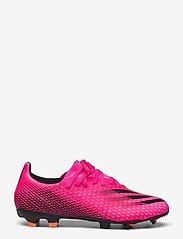 adidas Performance - X Ghosted.3 Firm Ground Boots - fodboldsko - shopnk/cblack/scrora - 0