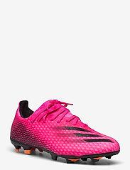 adidas Performance - X Ghosted.3 Firm Ground Boots - fodboldsko - shopnk/cblack/scrora - 1
