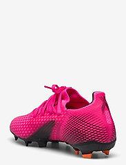 adidas Performance - X Ghosted.3 Firm Ground Boots - fodboldsko - shopnk/cblack/scrora - 2