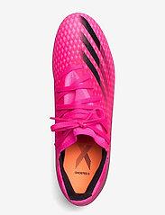 adidas Performance - X Ghosted.3 Firm Ground Boots - fodboldsko - shopnk/cblack/scrora - 3