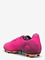 adidas Performance - X Ghosted.4 Flexible Ground Boots - fotbollsskor - shopnk/cblack/scrora - 2