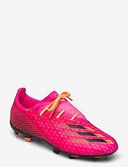 adidas Performance - X Ghosted.2 Firm Ground Boots - fotbollsskor - shopnk/cblack/scrora - 0