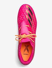 adidas Performance - X Ghosted.2 Firm Ground Boots - fotbollsskor - shopnk/cblack/scrora - 3