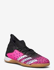 adidas Performance - Predator Freak.3 Indoor Boots - fodboldsko - cblack/ftwwht/shopnk - 1