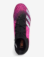 adidas Performance - Predator Freak.3 Indoor Boots - fodboldsko - cblack/ftwwht/shopnk - 3
