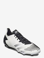 adidas Performance - PREDATOR 20.2 FG - fotballsko - ftwwht/silvmt/cblack - 0