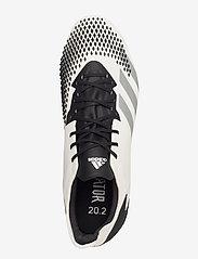 adidas Performance - PREDATOR 20.2 FG - fotballsko - ftwwht/silvmt/cblack - 3