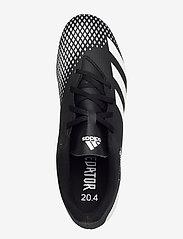adidas Performance - PREDATOR 20.4 FxG - fotbollsskor - cblack/ftwwht/cblack - 3