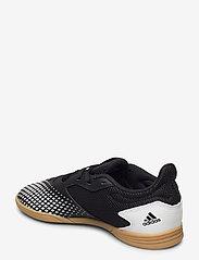 adidas Performance - PREDATOR 20.4 IN SALA J - sportschuhe - cblack/ftwwht/gum3 - 2