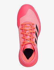 adidas Performance - Adizero FastCourt W TOKYO - indoor sports shoes - sigpnk/cblack/coppmt - 3
