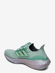 adidas Performance - Ultraboost 21 W - laufschuhe - hazgrn/hazgrn/bluoxi - 2