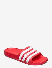 adidas Performance - Adilette Aqua Slides - pool sliders - vivred/ftwwht/vivred - 0