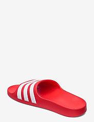 adidas Performance - Adilette Aqua Slides - pool sliders - vivred/ftwwht/vivred - 2