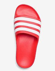 adidas Performance - Adilette Aqua Slides - pool sliders - vivred/ftwwht/vivred - 3