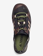 adidas Performance - Terrex Daroga HEAT.RDY Water - vandringsskor - cblack/dbrown/cardbo - 3