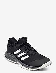 adidas Performance - Court Team Bounce M - inomhusskor - cblack/ftwwht/grefou - 1
