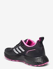 adidas Performance - Run Falcon 2.0 TR  W - running shoes - cblack/silvmt/scrpnk - 2