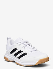 adidas Performance - Ligra 7 Indoor  W - indendørs sportssko - ftwwht/cblack/ftwwht - 0