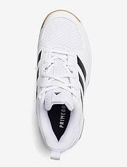 adidas Performance - Ligra 7 Indoor  W - indendørs sportssko - ftwwht/cblack/ftwwht - 3