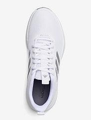 adidas Performance - Fluidstreet  W - running shoes - ftwwht/msilve/halsil - 3