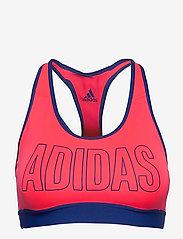 adidas Performance - DRST ASK SP BRN - sport bras: medium - sigpnk/royblu - 1