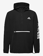 adidas Performance - M AT PBL 1/4 WB - training jackets - black/white - 1