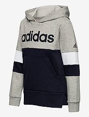 adidas Performance - YB LIN CB HD FL - kapuzenpullover - mgreyh/legink/legink - 2
